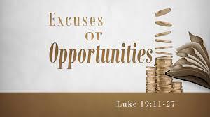 Luke 19 opportunities
