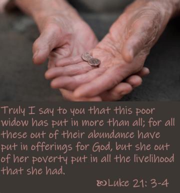 Luke 21 two mites