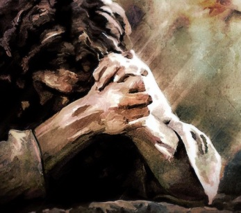 Luke 22 Jesus praying