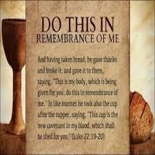 Luke 22 remember