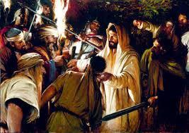 Luke 22 the garden arrested