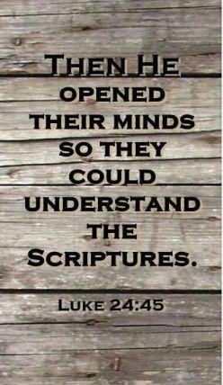 Luke 24 45
