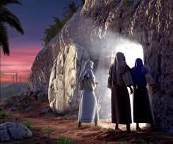 Luke 24 he is not here