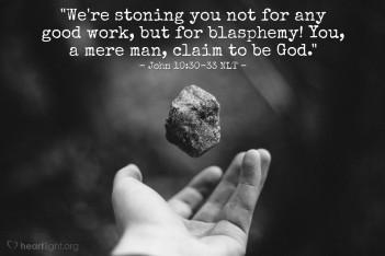 John 10 stoning
