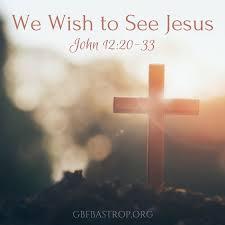 John 12 meet Jesus