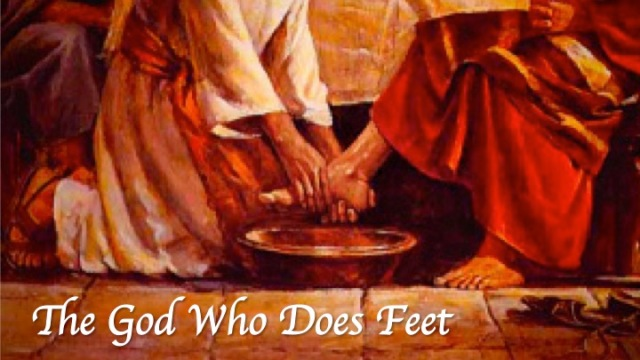 John 13 God who does feet