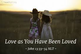 John 13 love as you have been loved