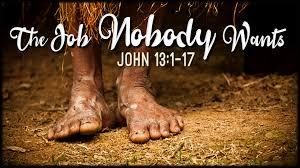 John 13 no body wants