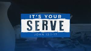 John 13 your serve