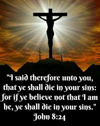 John 8 died for our sins