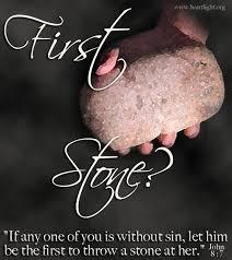 John 8 first