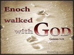 Gen 5 Enoch walked