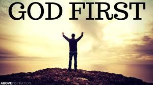 Genesis 1 God first