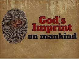 Genesis 1 God imprint