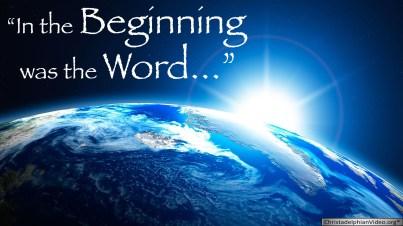 Genesis 1 the Word
