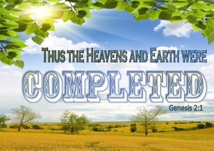 Genesis 2 completed