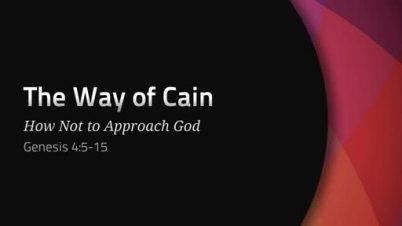 Genesis 4 God