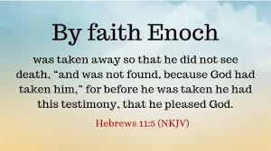 Genesis 5 Enoch