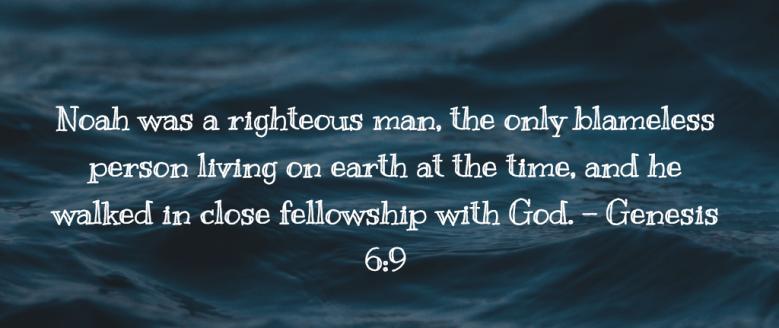 Genesis 6 close to God