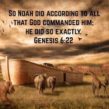 Genesis 6 exactly