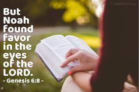 Genesis 6 favor