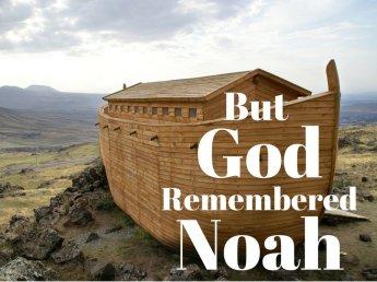 Genesis 6 God remembered