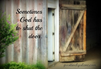 Genesis 7 God shuts the door