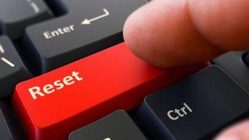 Genesis 9 reset button