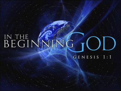 Genesis God first