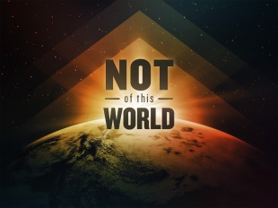 John 18 not of this world