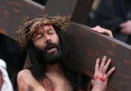 John 19 bearing the cross