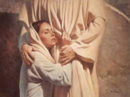 John 20 Mary hugs Him