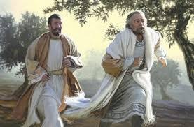 John 20 Peter and John