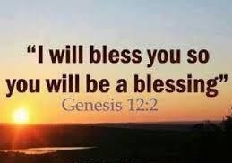 Genesis 12 blessed