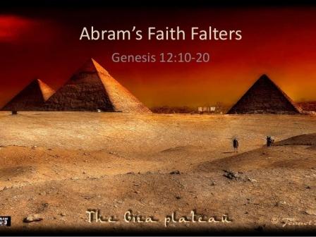 Genesis 12 faith falters
