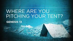 Genesis 13 tent