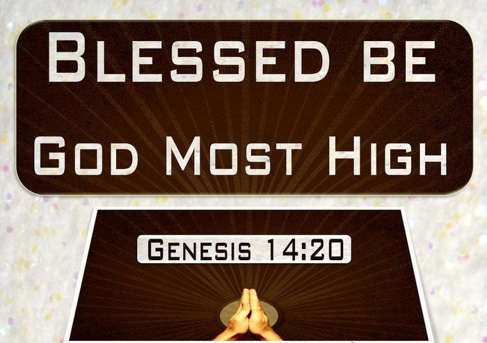 Genesis 14 blessed