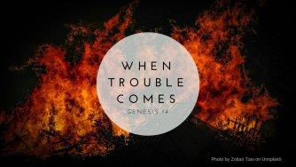 Genesis 14 trouble