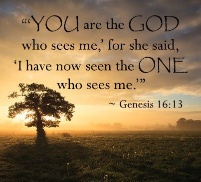 Genesis 16 God who sees