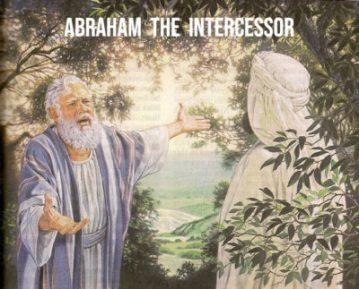 Genesis 18 intercessor