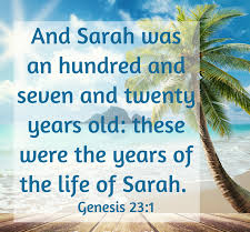 Genesis 23 Sarah