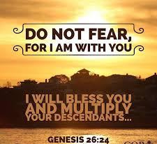 Genesis 26 do not fear