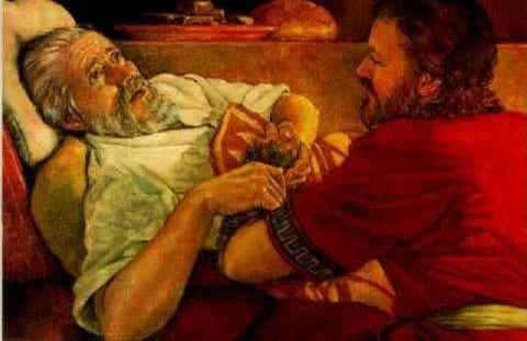 Genesis 27 the lie