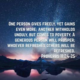 Genesis 30 give freely