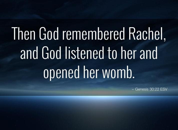 Genesis 30 God and Rachel