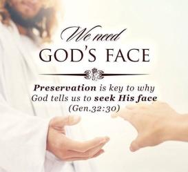Genesis 32 seek God's face