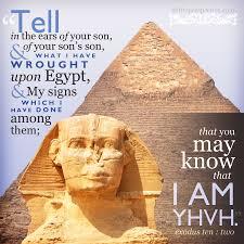 Exodus 10 go tell