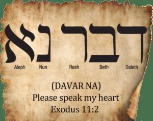 Exodus 11 speak Gods heart