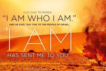 Exodus 3 I AM