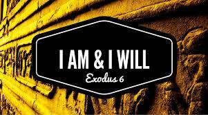 Exodus 6 I AM